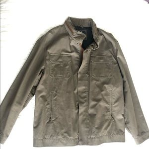 Men's Brooks Brothers casual jacket in army green